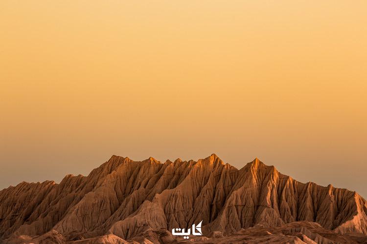 کوه های مریخی - تصویر از علی جوهر