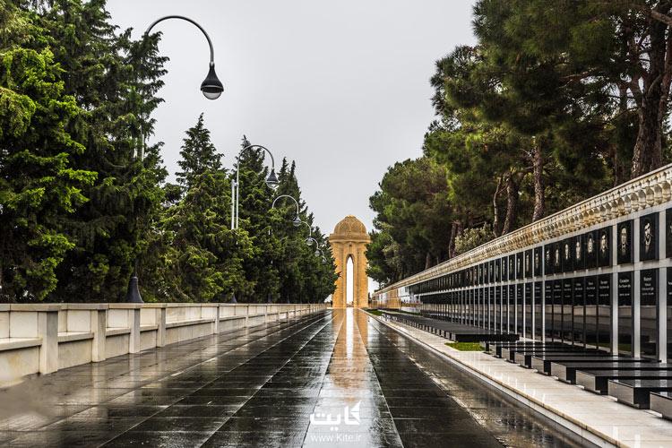 باغ در باکو