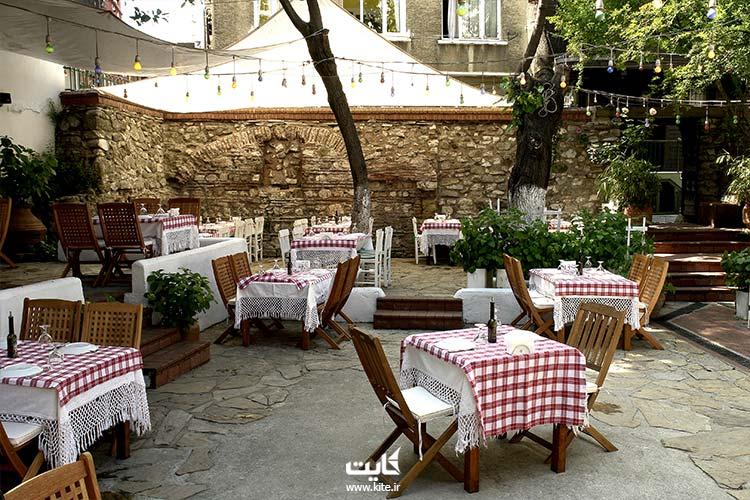 Giritliرستوران گریتیلی باغی در لیست بهترین رستوران های استانبول