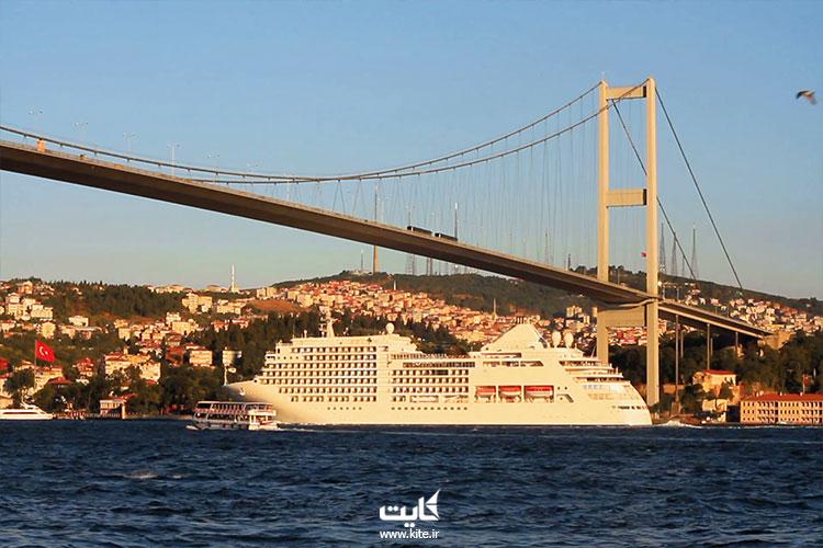 استفاده از کشتی های کروز استانبول