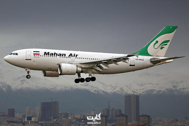 بلیط هواپیما بانکوک ماهان ایر