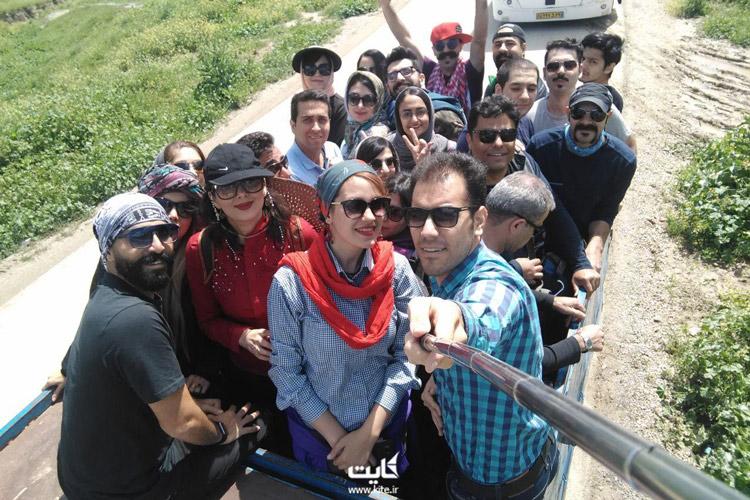 نیسان سواری در تور خالد نبی ترکمن صحرا