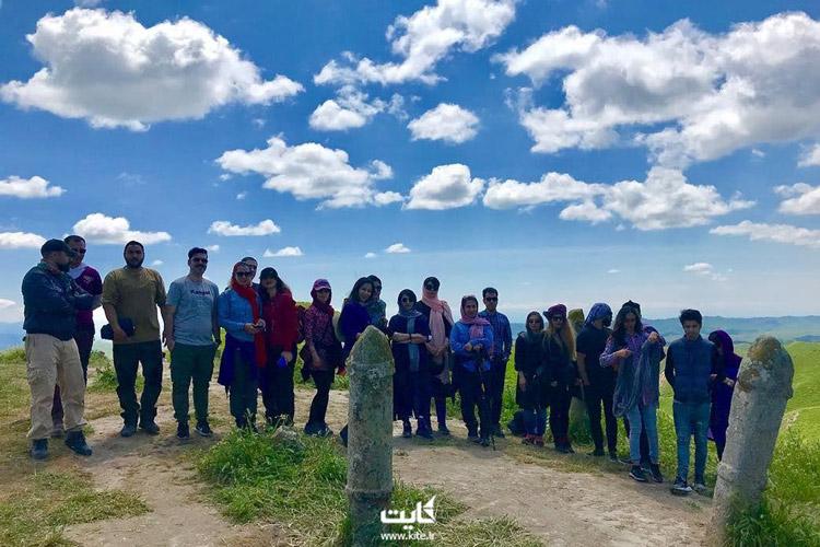 گورستان قبرستان خالد نبی ترکمن صحرا