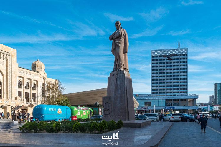 دانشگاه باکو آذربایجان