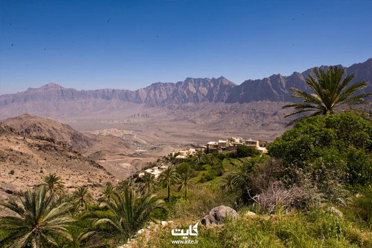 تور عمان و بازدید از روستای وکان
