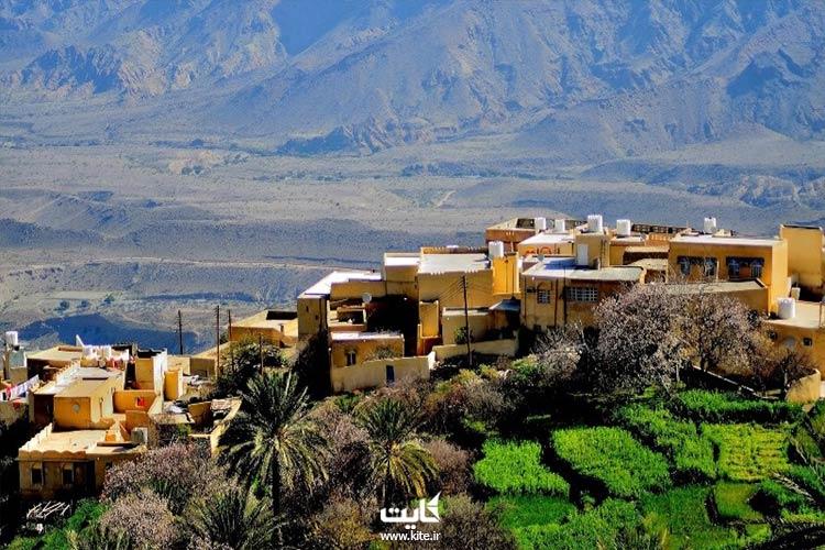 معماری ایتالیایی روستان وکان در تور عمان