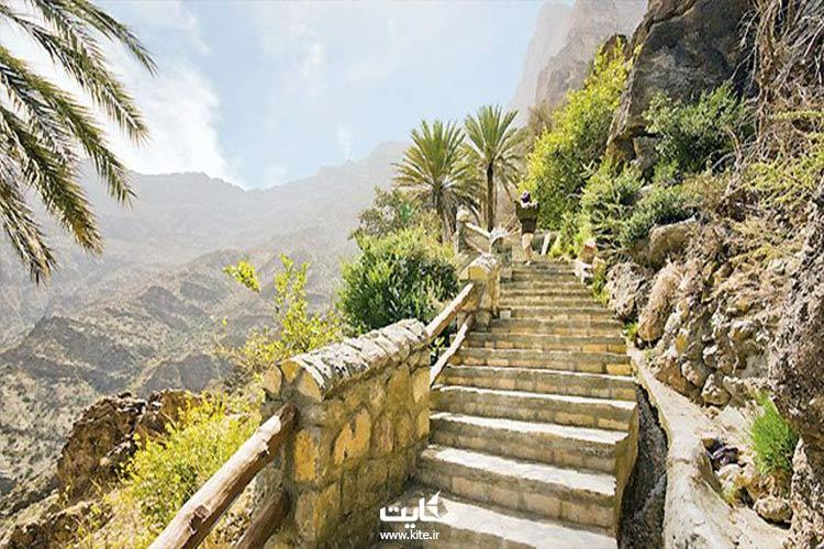 چطور به روستای وکان در تور عمان بریم