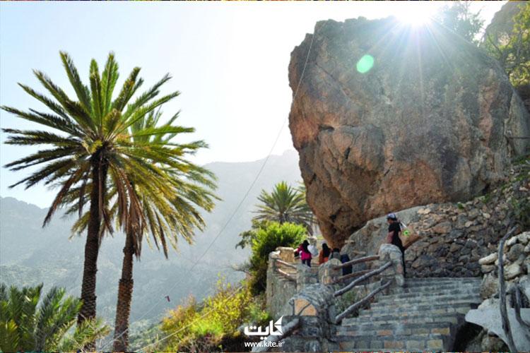 آب و هوای روستای وکان در تور عمان