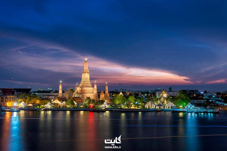 قیمت بلیط هواپیما بانکوک