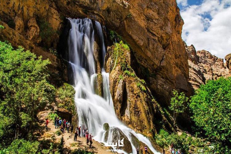بهترین آبشارهای ایران