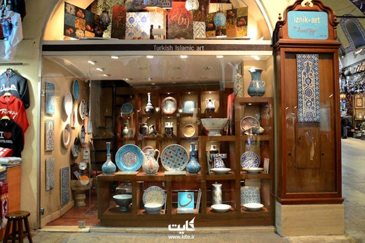 عتیقهجات عثمانی در بازار بزرگ استانبول
