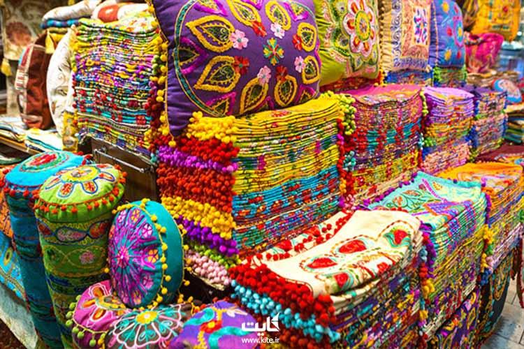 منسوجات بازار بزرگ استانبول