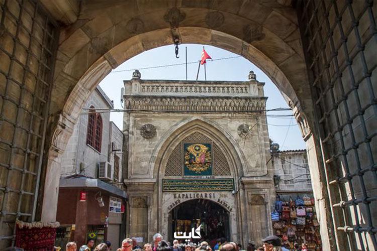 دروازهای بازار بزرگ استانبول