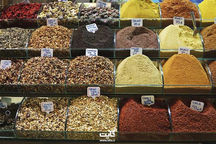 بازار مصری های استانبول