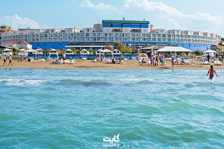 ساحل نوخانی از بهترین سواحل باکو با مراکز تفریحی