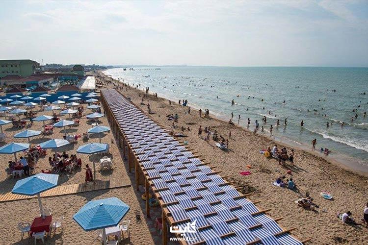 ساحل شیخوف یکی از بهترین سواحل باکو با هتلهای 5 ستاره استخردار