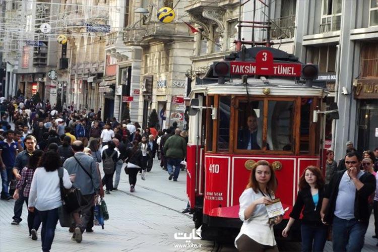 محل اقامت در استانبول