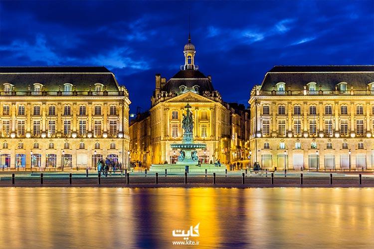 بوردو یکی از شهرهای دیدنی کشور فرانسه معروف به زیبای خفته