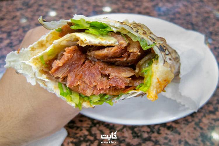 غذا های خیابانی استانبول