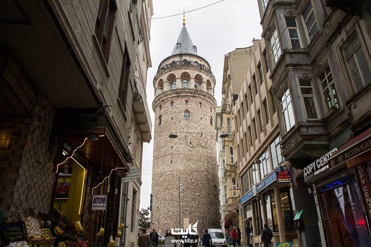 برج گالاتا کاراکوی استانبول