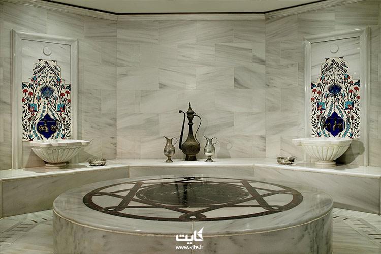 حمام ریتزکارلتون استانبول