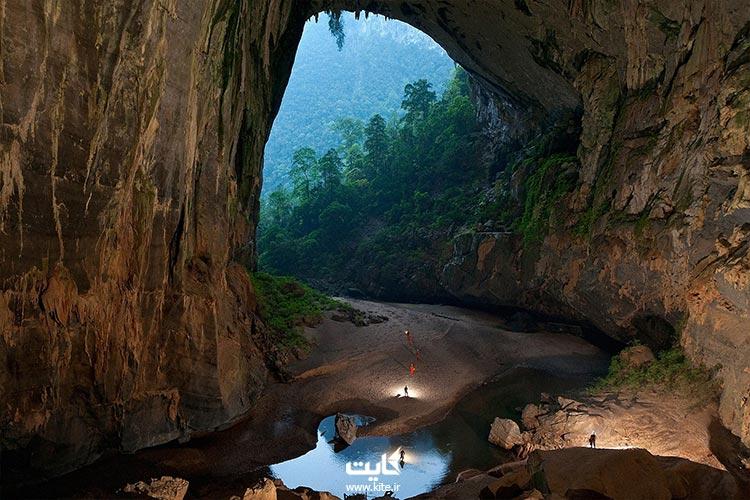 بازدید از بزرگترین غار جهان در تور ویتنام