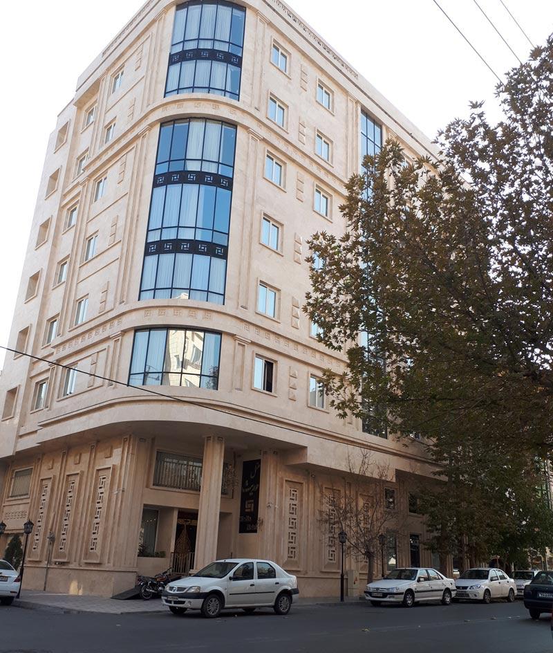 ساختمان هتل حدیث مشهد