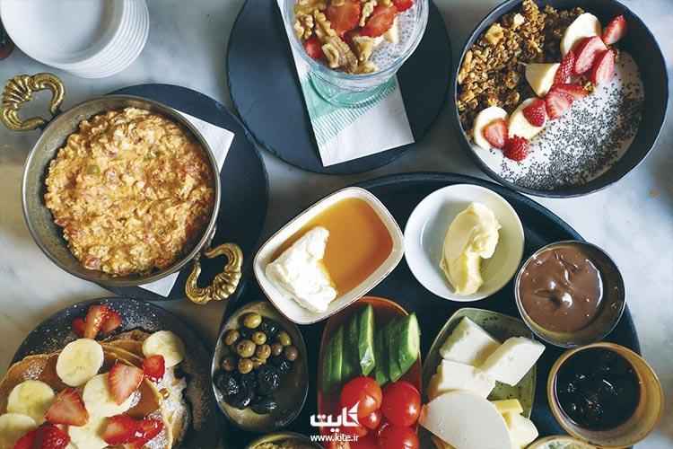 بهترین رتوران های استانبول برای صبحانه