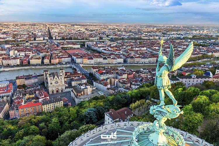 لیون یکی از شهرهای دیدنی کشور فرانسه