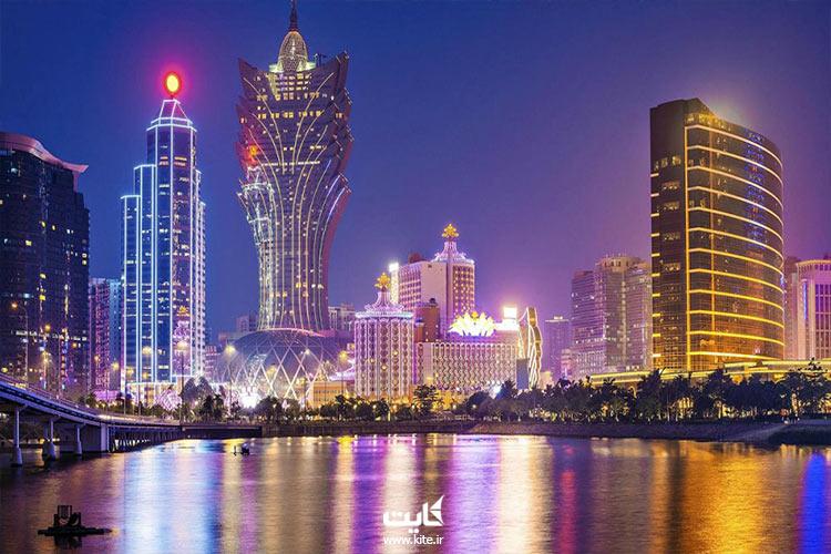 شهر ماکائو در کشور چین