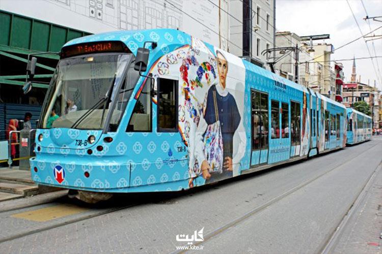 گردش با مترو در استانبول