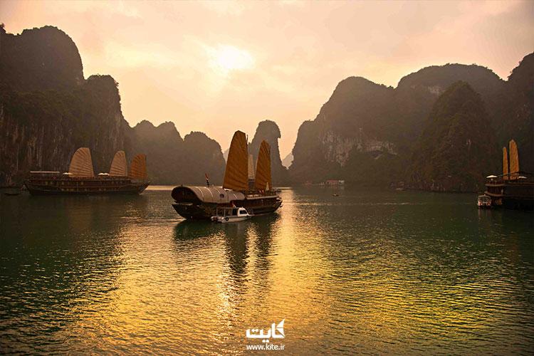 نهاترنگ زیباترین خلیج آسیا
