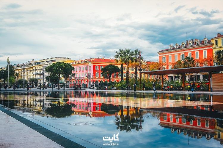 Nice از شهرهای دیدنی کشور فرانسه