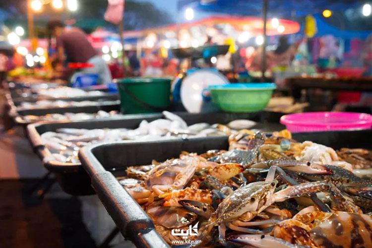 شکمگردی در بازارهای شبانه