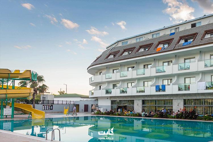 چه هتلهایی نزدیک اورنج کانتی تور آنتالیا هست