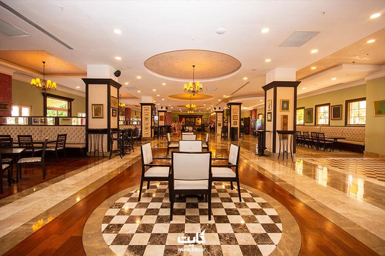 کافهگردی تور آنتالیا در هتل اورنج کانتی