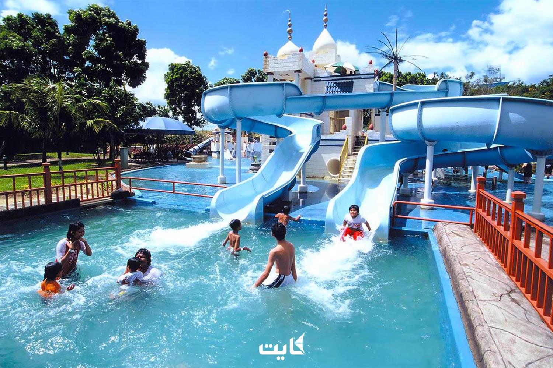 معرفی پارک آبی آفاموسا در شهر کولالامپور مالزی