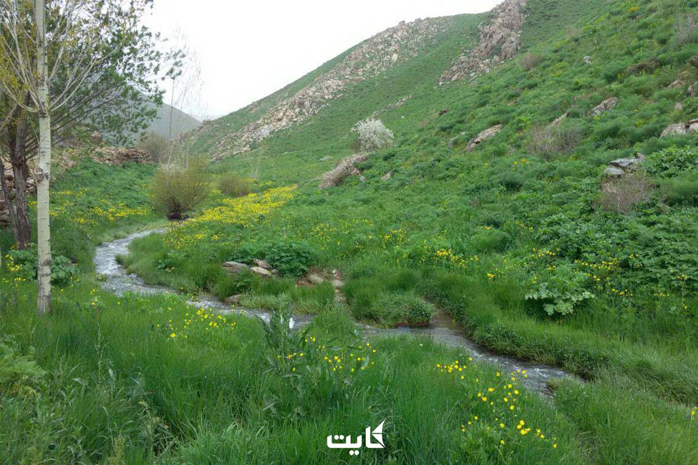 معرفی مقاصد طبیعتگردی در کردستان
