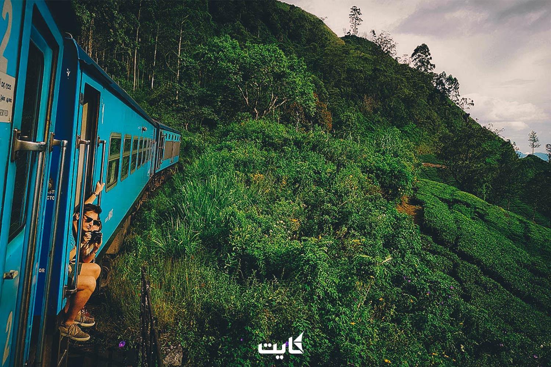 شهرت بیش از اندازه قطارهای سریلانکا