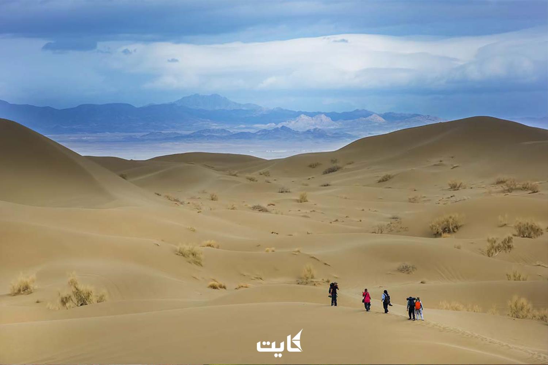 لوازم مورد نیاز برای سفر به کویر ریگ زرین یزد