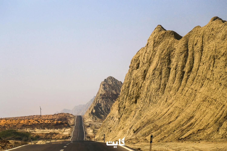 مسیر دسترسی به کوههای مینیاتوری چابهار