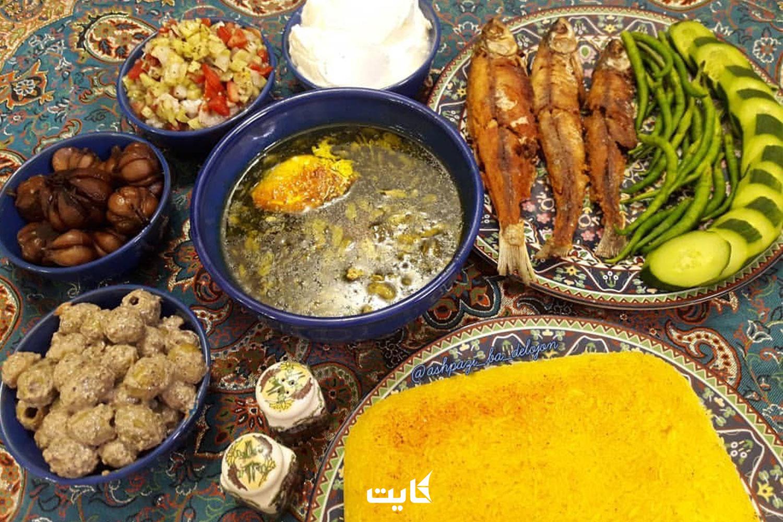 معرفی رستورانهای برتر شهر رشت