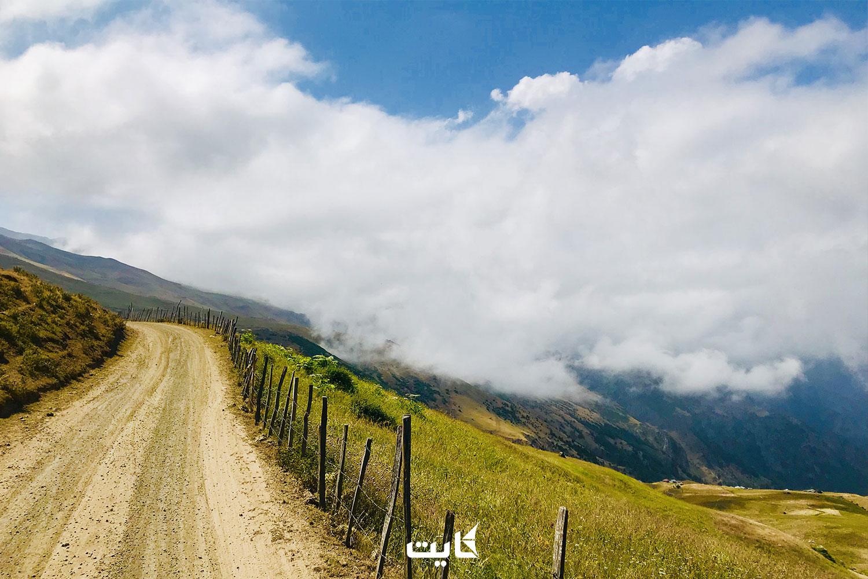 مسیر دسترسی به سوباتان از دریاچه نئور با ماشین شخصی و آفرود