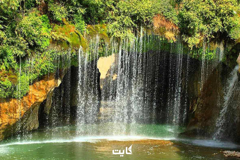 معرفی آبشار ملخ