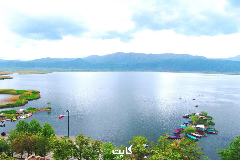 معرفی دریاچه زریوار