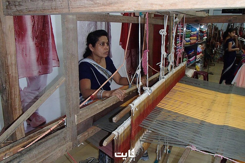 پارچههای دستباف از سوغاتیهای محبوب سریلانکا