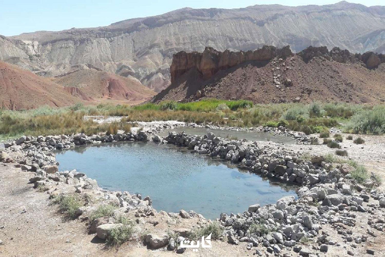 معرفی چشمه آبگرم قلعه کندی