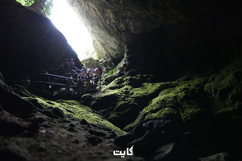 مسیر دسترسی به غار زئوس