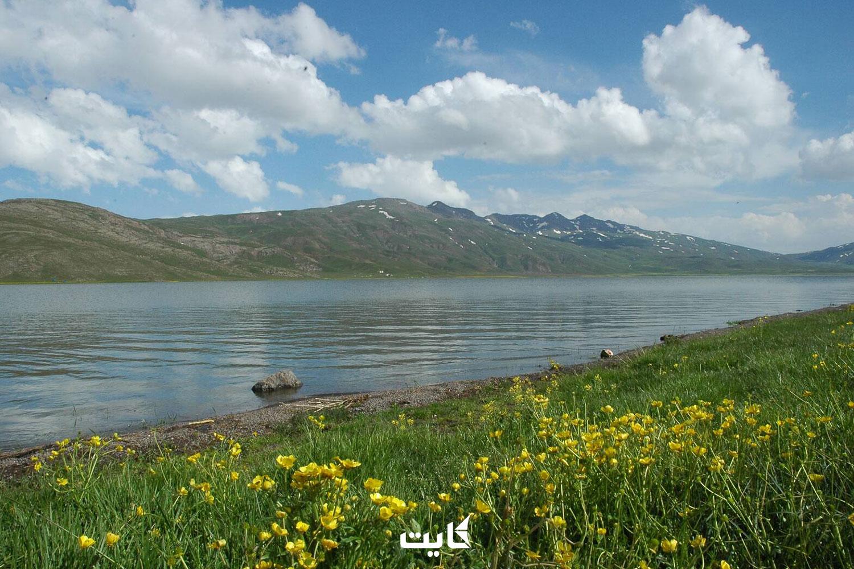 مسیر دسترسی به دریاچه نئور