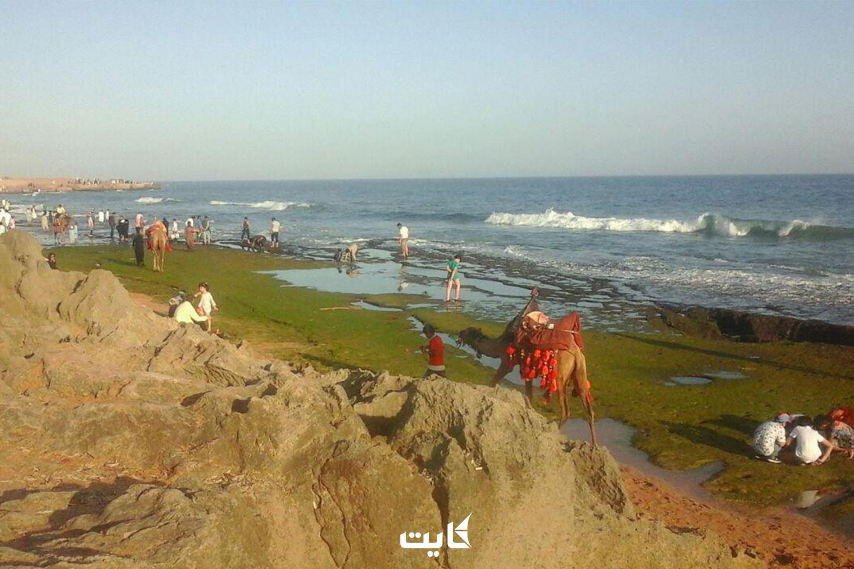 مسیر دسترسی به سواحل مکران